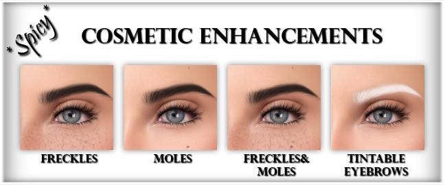 Cosmetic enhancements HUD