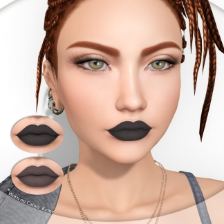 Lipstick duo black AD