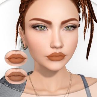 Lipstick duo orange pack