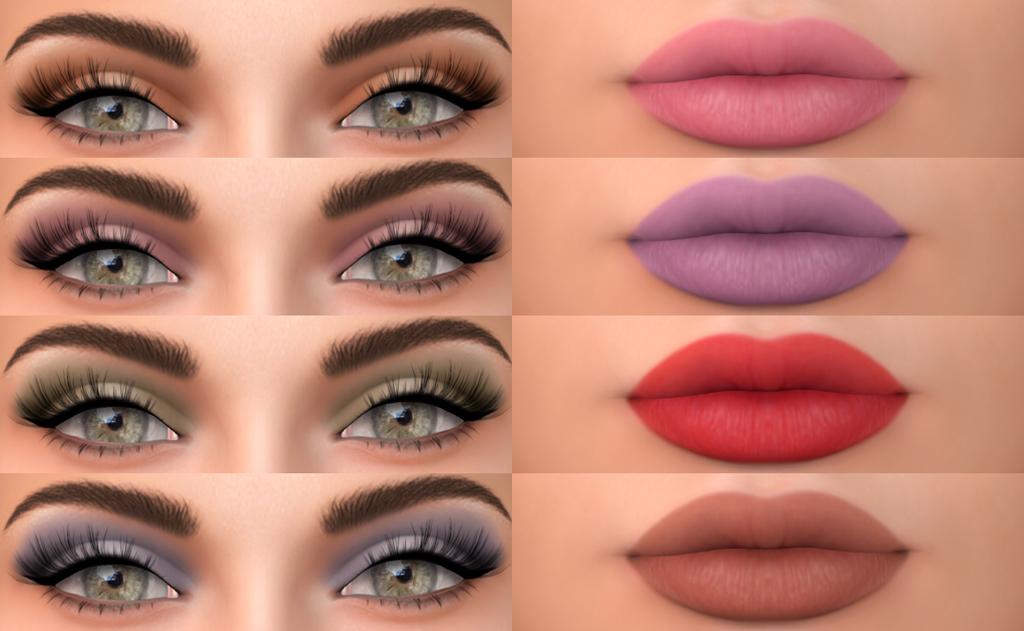 Ashley makeup