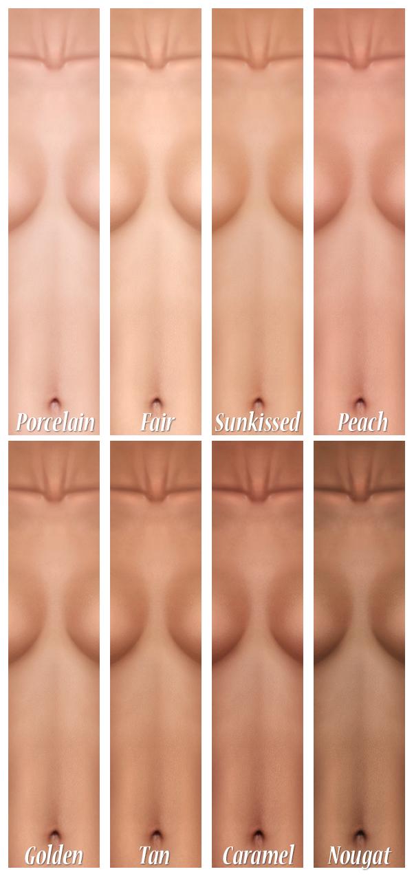 All skin tones