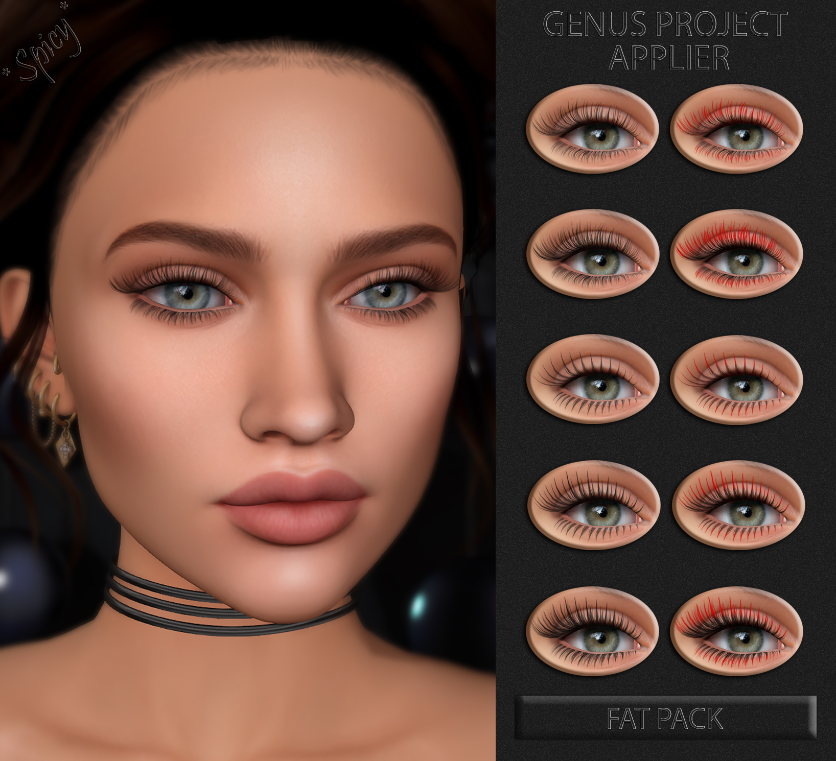 Eyelashes AD Genus