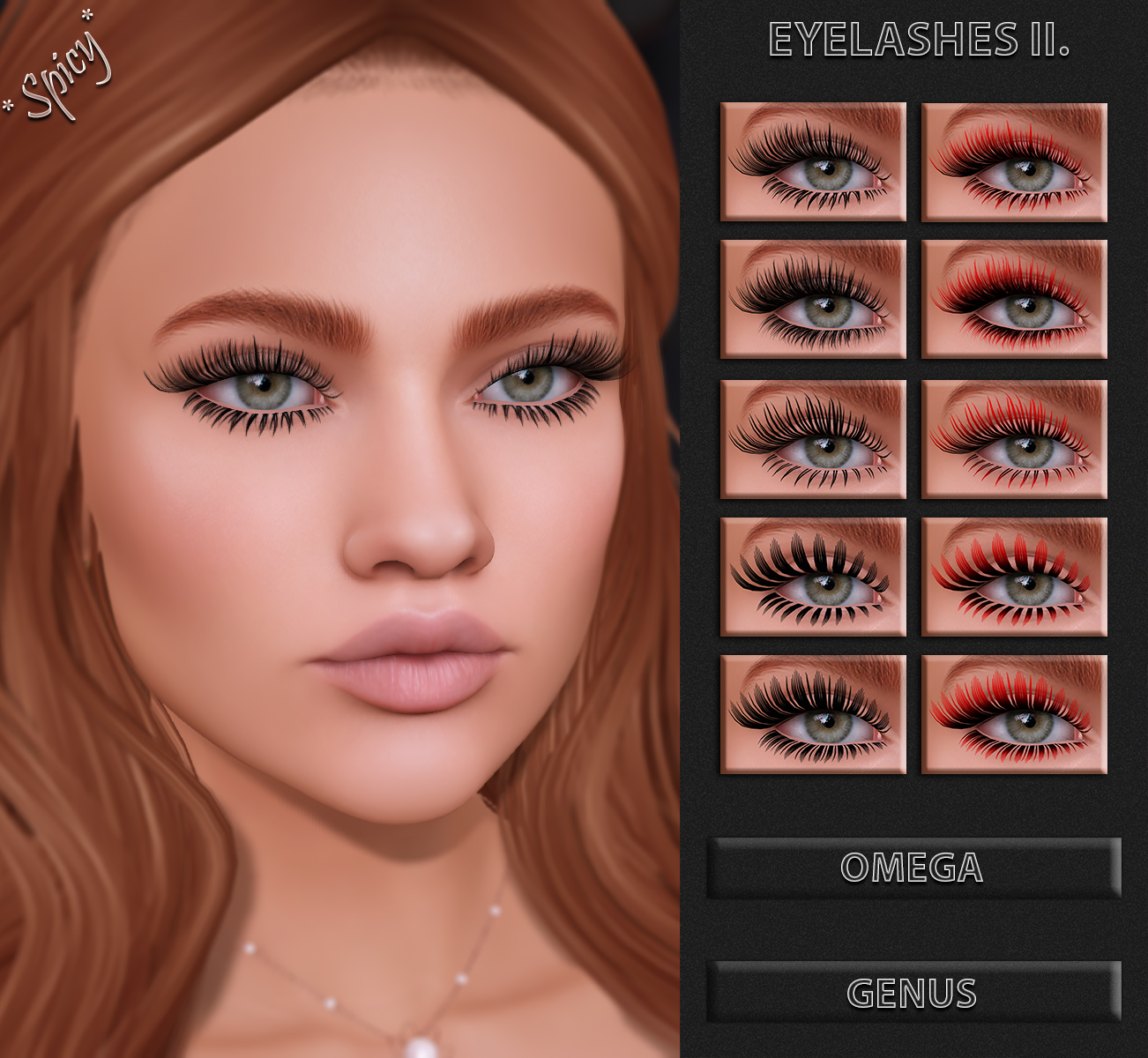 Eyelashes II. AD